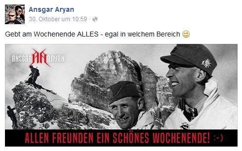 Gebirgsjäger Ansgar Aryan