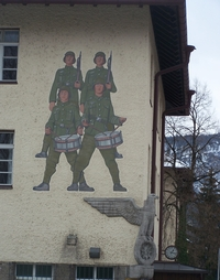 Bad Reichenhall NS-Wandbild
