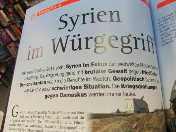 Syrien im Würgegriff