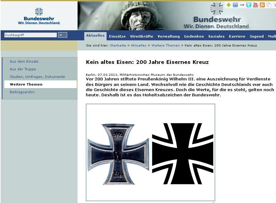 Bundeswehr Eisernkreuz