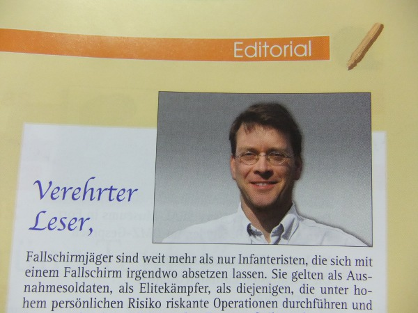 Michael Kraus, DMZ-Chefredakteur