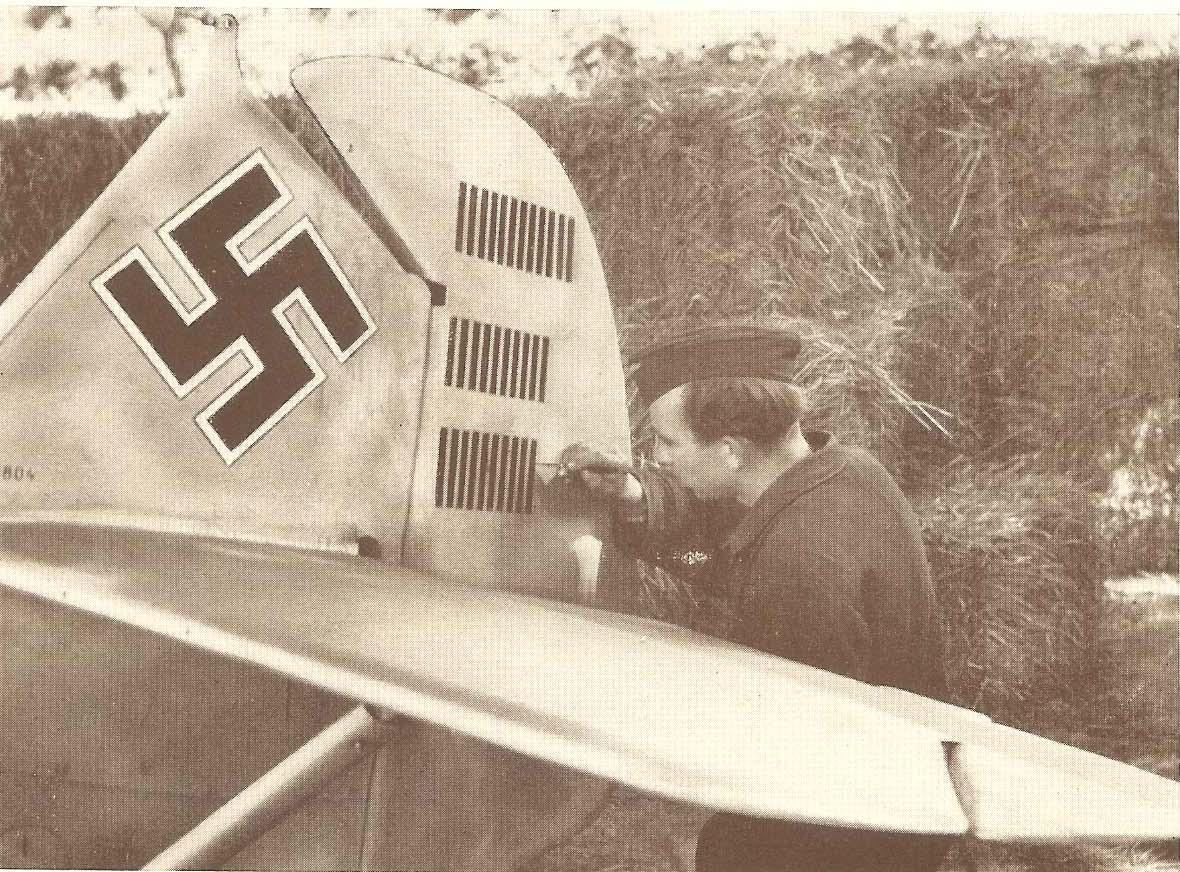 Mölders nach 32. Luftsieg