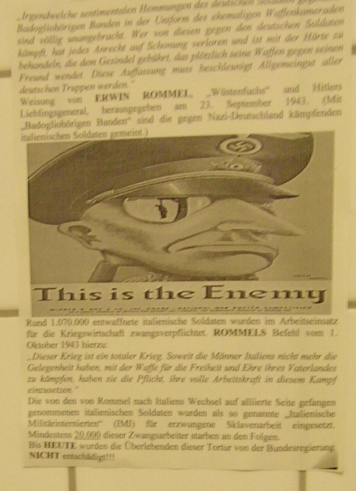 Kritik an Rommel-Ausstellung