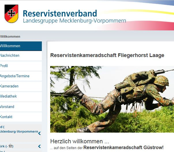 Reservisten-Kameradschaft Fliegerhorst Laage
