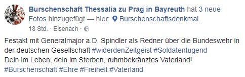 Spindler als DB-Redner