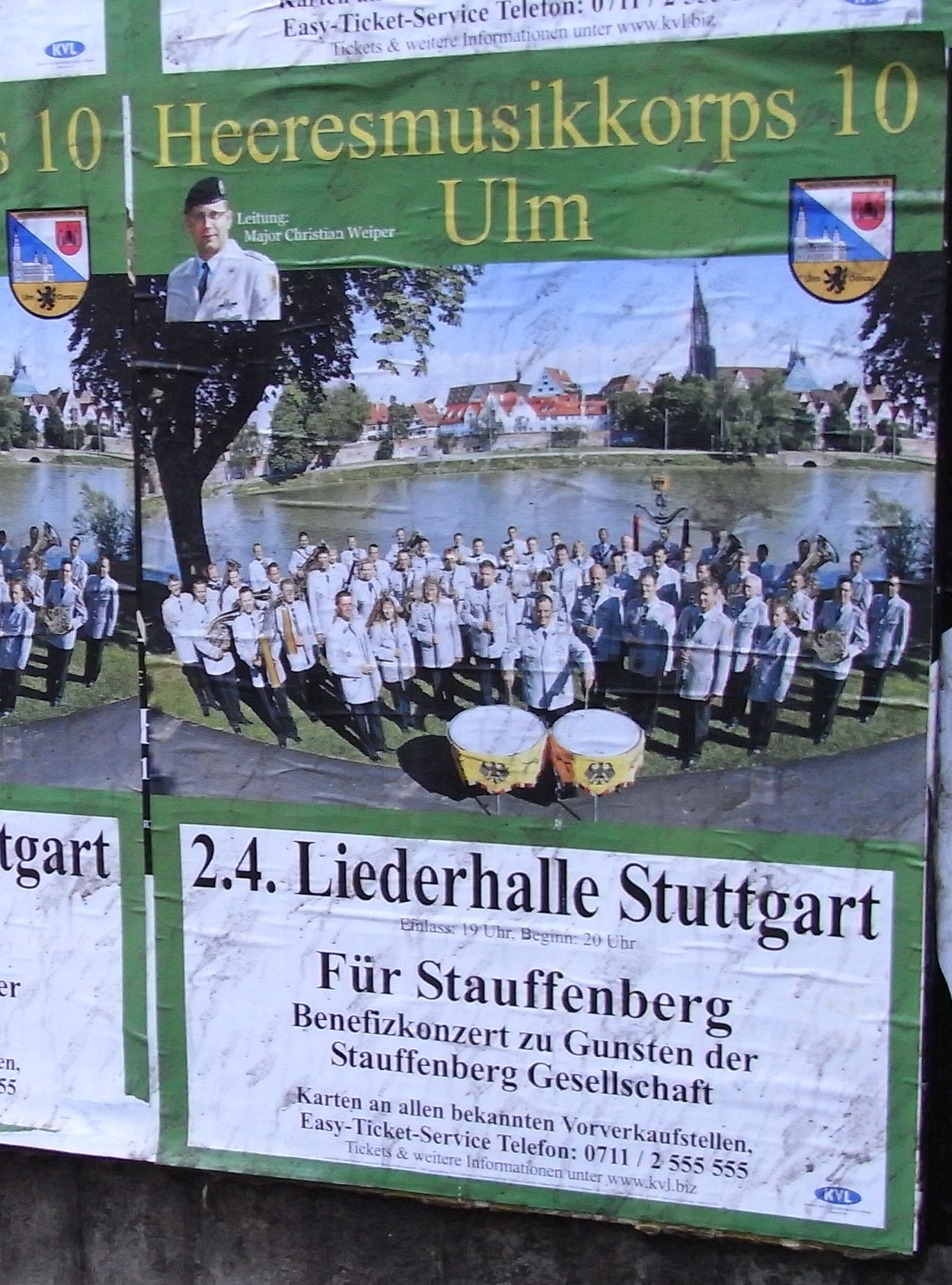 Benefizkonzert in Stuttgart