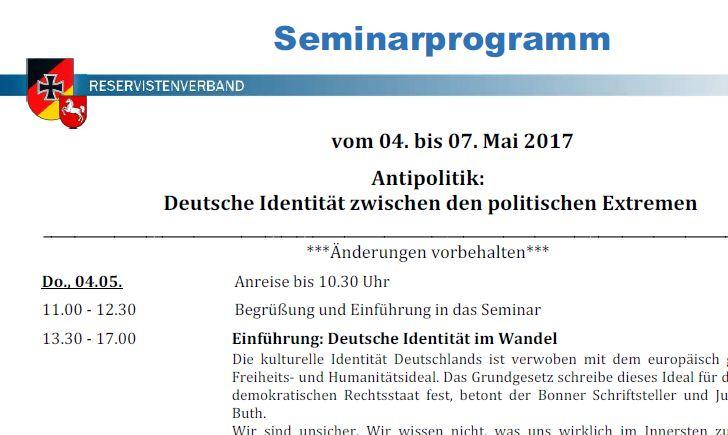 Vortrag Deutsche Identität